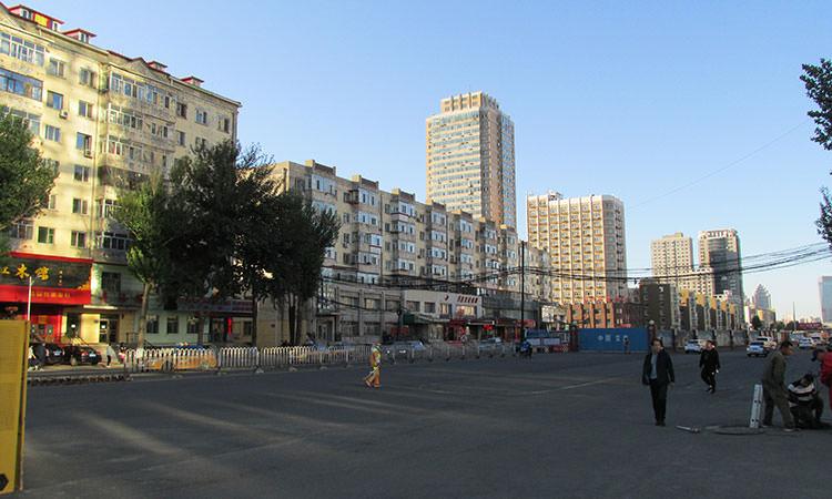 Strade deserte in Cina