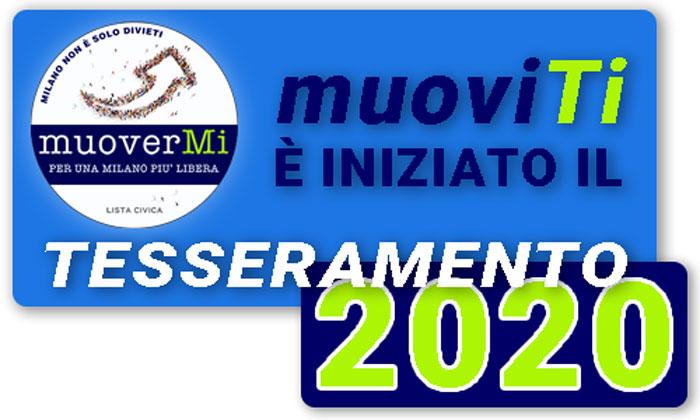 Tesseramento Soci 2020